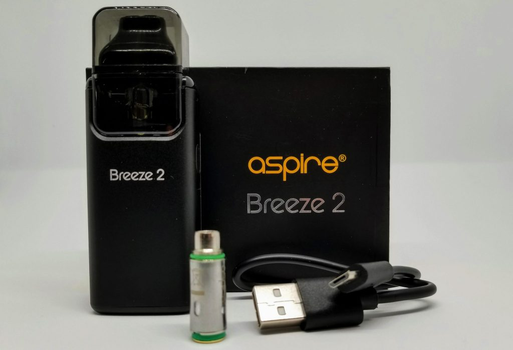 Aspire Breeze 2 Whats In the Box