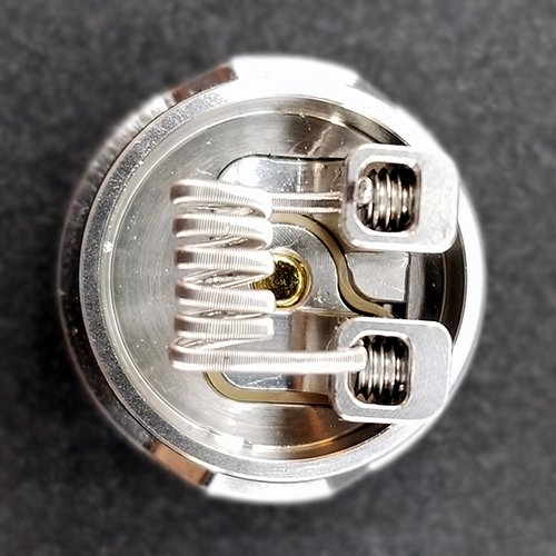 Coil Installed on the Drop Solo RDA