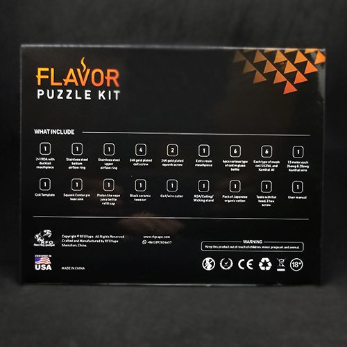 Flavor Puzzle Kit