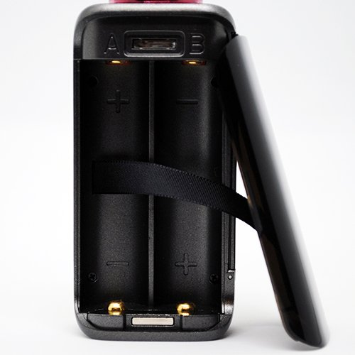Augvape VX200 Battery Compartment