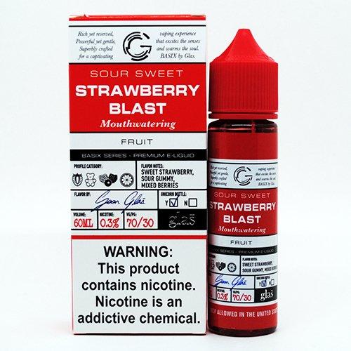 Strawberry Blast Basix E-Juice Review