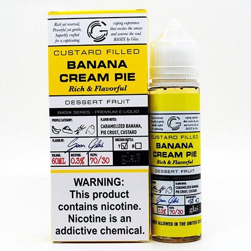 Banana Cream Pie Basix E-Juice Review