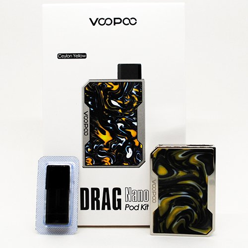 Drag Nano Pod Kit Box Contents