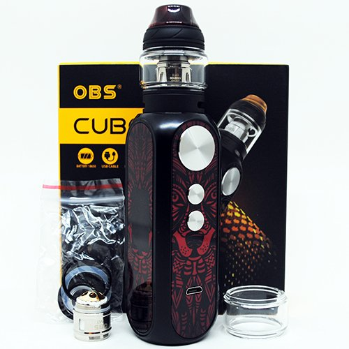 OBS Cube X Box Contents