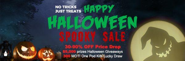 EightVape Halloween Banner