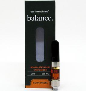 Earth Medicine CBC Vape Cartridge Review