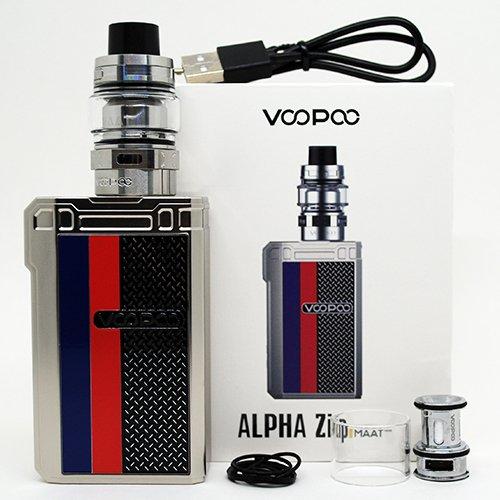 VooPoo Alpha Zip Kit Box Contents