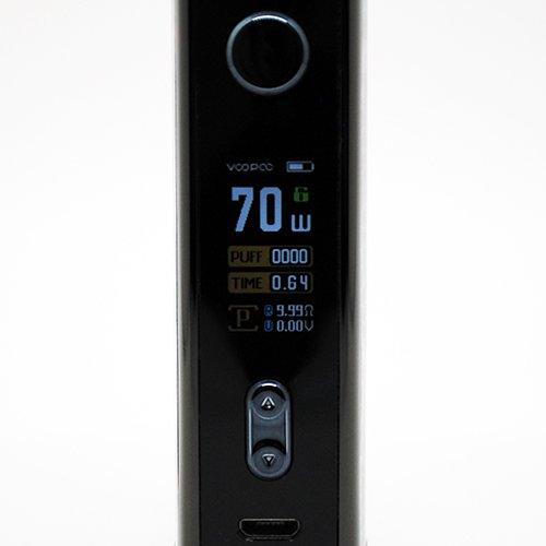 VooPoo Vinci X Screen & Buttons