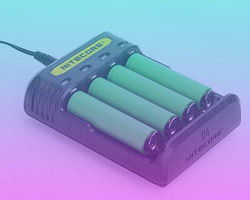 Nitecore Vaping Battery Charger