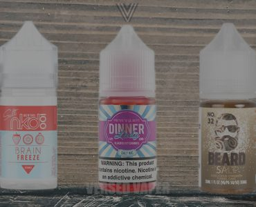 Best Nicotine Salt Ejuices Main Banner