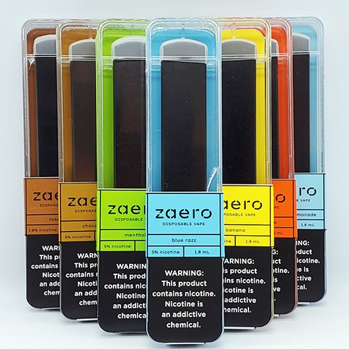 Zaero Disposables Packaging 2