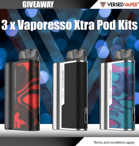Vaporesso Xtra Giveaway