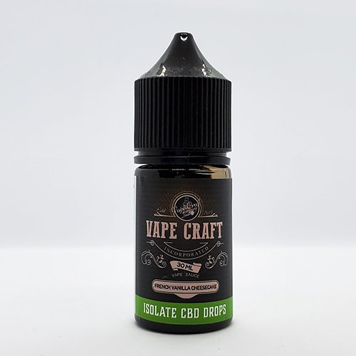 Vape Craft CBD French Vanilla Cheesecake