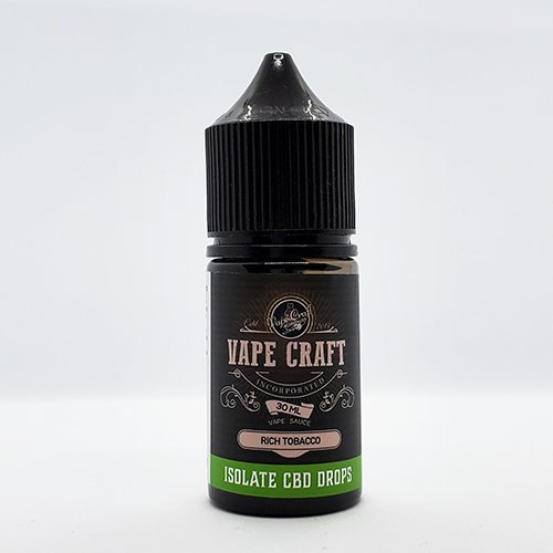 Vape Craft CBD Rich Tobacco