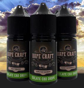 Vape Craft Inc CBD EJuice Review Main Banner