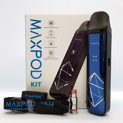 Freemax Maxpod Box Contents