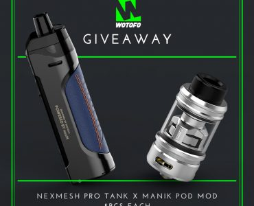 Wotofo Giveaway