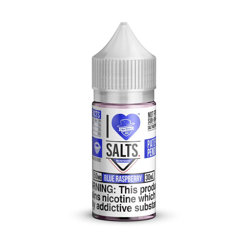 I Love Salts Blue Raspberry