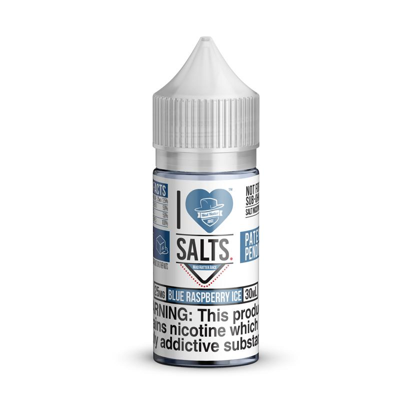 I Love Salts Blue Raspberry Ice