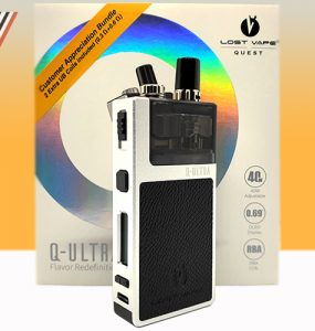 Lost Vape Q-Ultra Review - Main Banner
