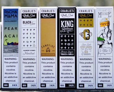 Charlies Chalk Dust Ejuice Review Main Banner