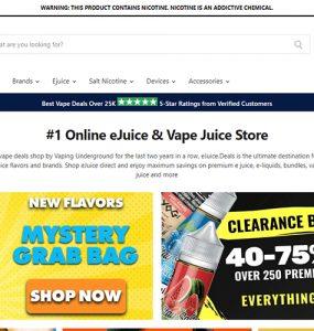 Ejuice Deals Website Review