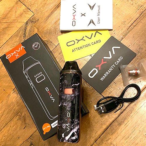 OXVA X Box Contents