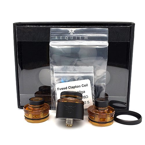 Vandy Vape Requiem RDA Box Contents