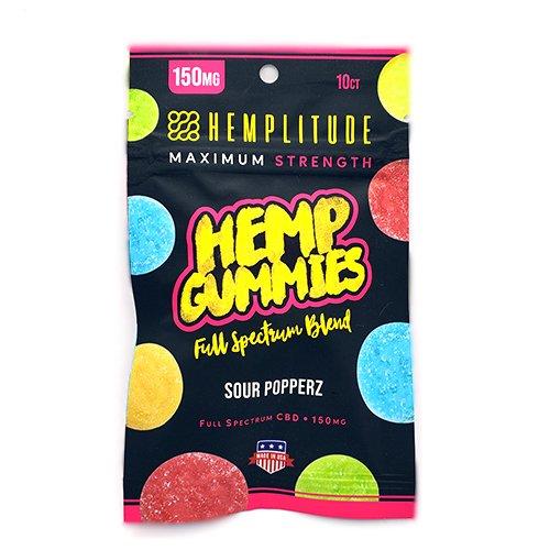 Hemp Gummies Sour Popperz