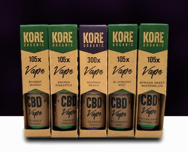 Kore Organic CBD Ejuice Review Main Banner