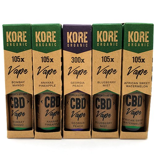 Kore Organic CBD Vape Juices