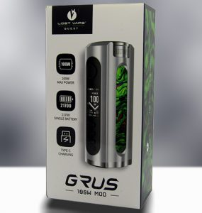 Lost Vape Grus Review Main Banner