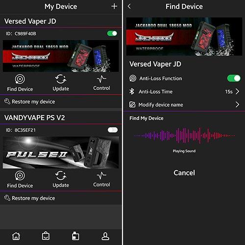 Vandy Vape App