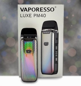 Vaporesso Luxe PM40 Review Main Banner
