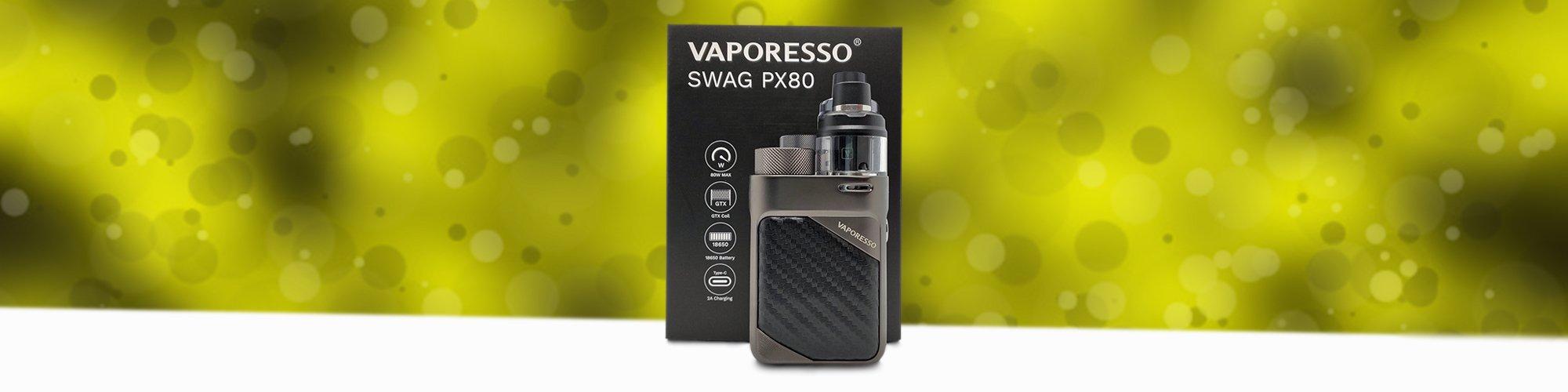 Vaporesso Swag PX80 Pod Mod Review Main Banner