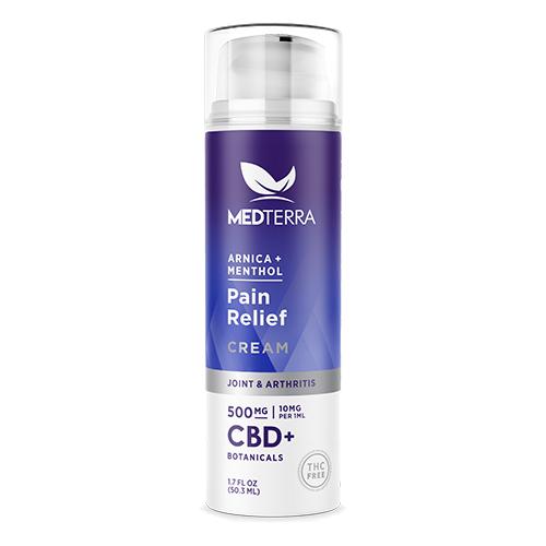 Medterra CBD Pain Relief Cream 500x500