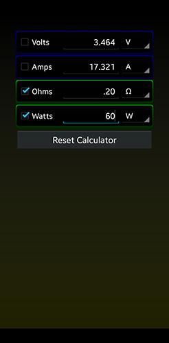 Ohms Law App