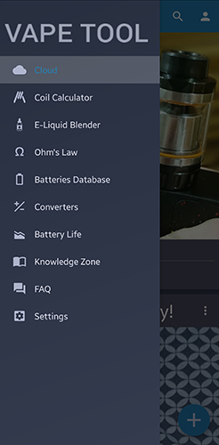 Vape Tool App