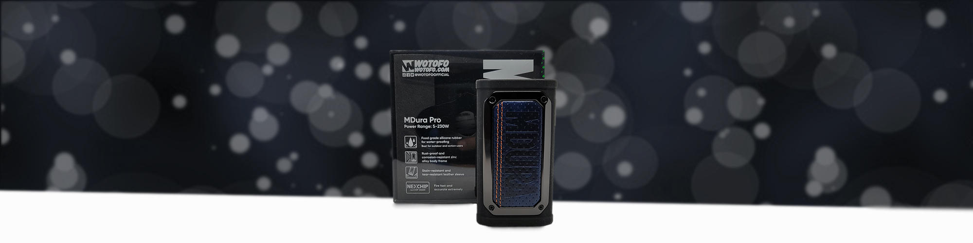 Wotofo MDura Pro Review Main Banner