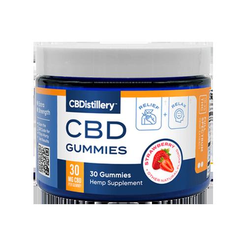 CBDDistillery Best CBD Gummies 500x500
