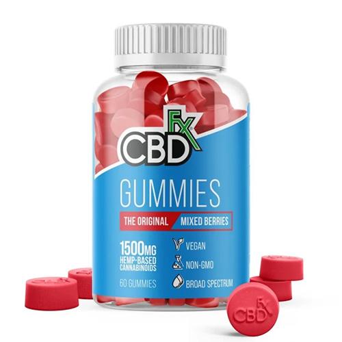 CBDfx Best CBD Gummies 500x500